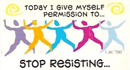 Permission To Stop Resisting